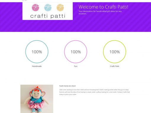Crafti Patti Website